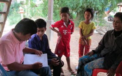Entrevistes a les famílies dels nostres beneficiaris