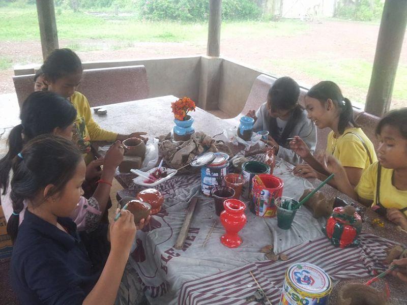 Classes de pintura i dibuix per desenvolupar la creativitat