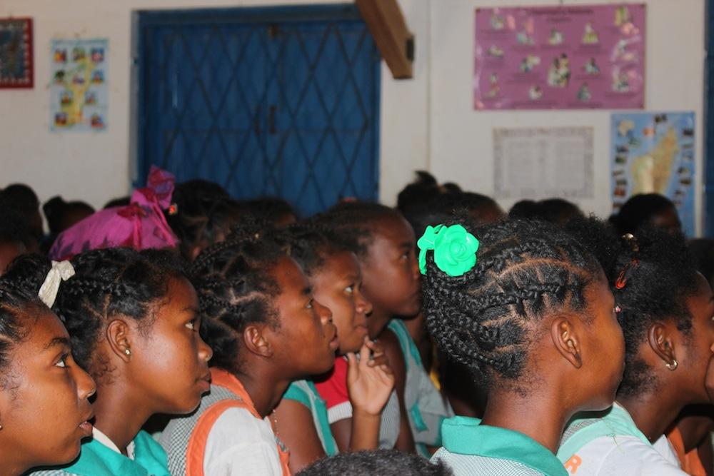 Jornada de sensibilització en el Dia Mundial contra la SIDA a l'escola de les Salines