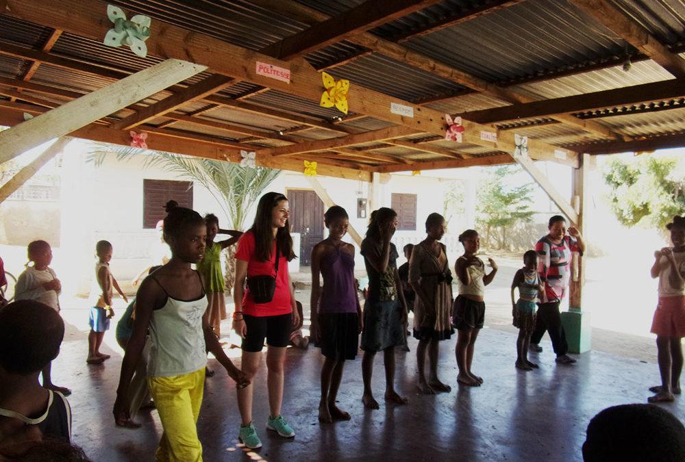 Els voluntaris de l'ONG Bel Avenir