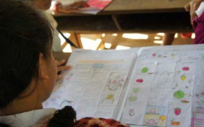 Creativitat periodística a les escoles de Cambodja